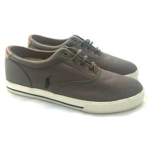 Polo Ralph Lauren Vaughn Canvas Shoes Boy's Size 6